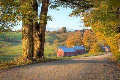 Vermont Autumn || Jenne Farm, Reading, VT