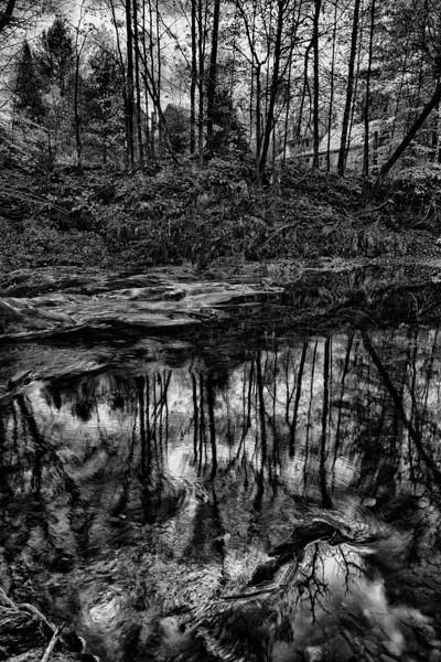 Riverside reflection - Northfield, VT