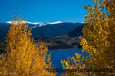 Keystone, Colorado's North Peak ski runs with early season snow... hoping for a great 2013-14 ski season in Summit County!