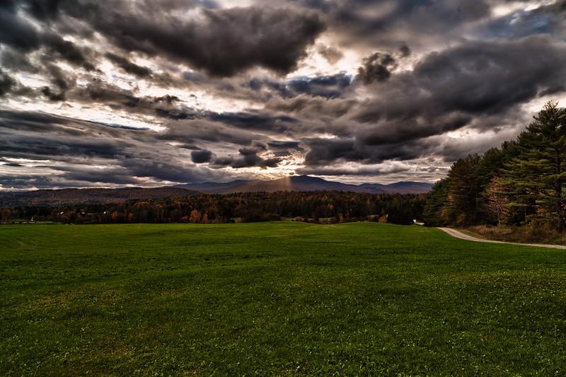 Through the clouds - Elmore, VT