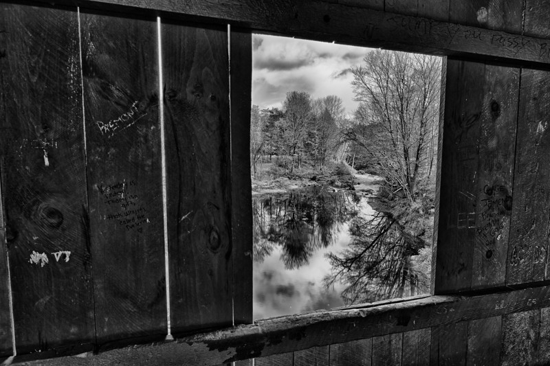 Out the window - Northfield Falls, VT