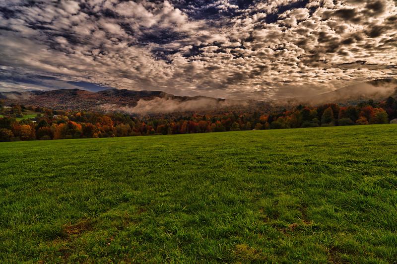 Early morning mist - Waterbury, VT