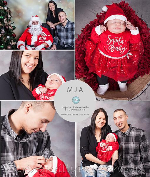 Santa Collage 5
