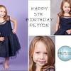 Peyton's Birthday Collage