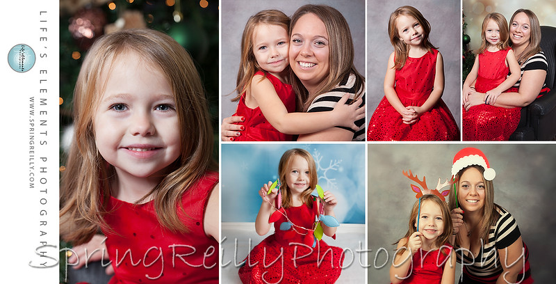 Peyton's Christmas Collage
