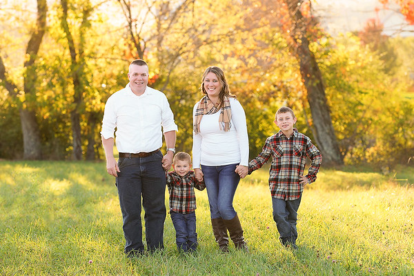 Fall Mini Family Session | Teri Walizer Photography