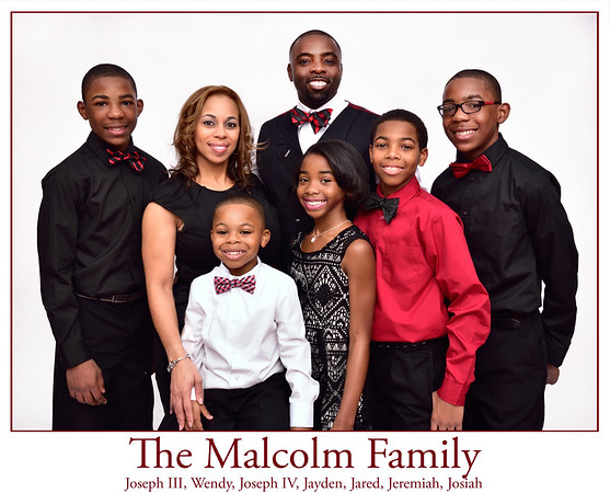 Joe Malcolm Family Portraits