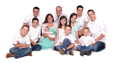 Heartland Blood Center Family Photo Shoot