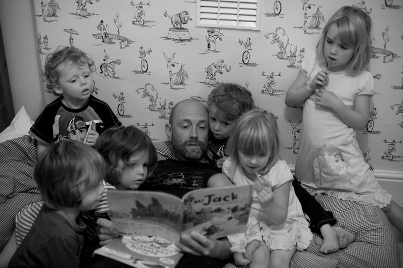 Tim & the kids