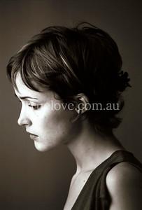 Australian actor Rose Byrne. © Tess Peni 2000