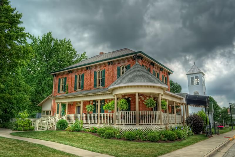 Cafe Verandah located in Jackson Center, Ohio
