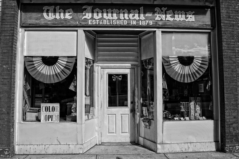 The Journal-News<br /> Local newspaper office located in Spencerville, Ohio