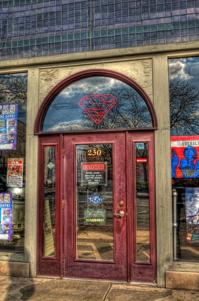 Comic Book Storefront