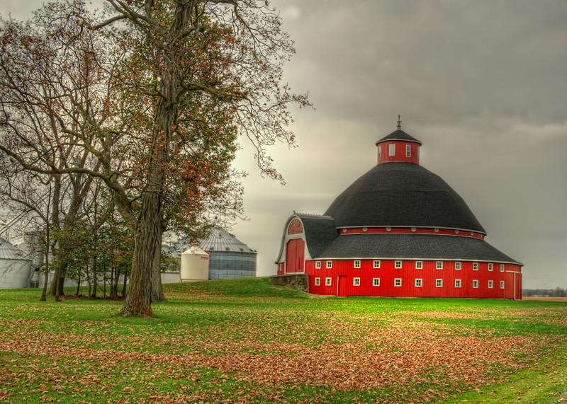 Round Barn near Indian Lake  in Ohio
