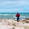 """"""" Finding Peace """"  along the shore of Lake Huron. Photo taken near the 40 Mile Point Light House in Michigan."""