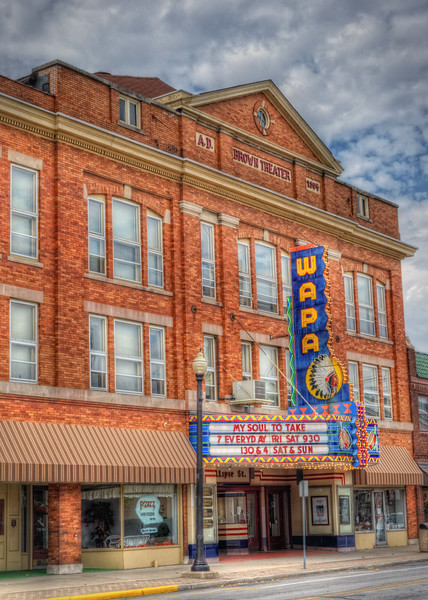 The Old Brown Theater ...now called the Wapak Theater