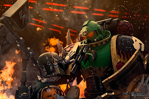 Star Wars vs Warhammer 40K