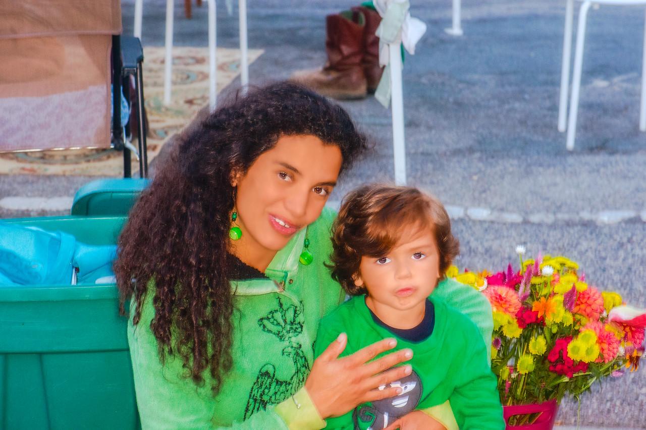 Karen and son