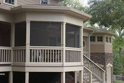 Farmhouse screened porch