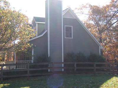 Original farmhouse  west elevation