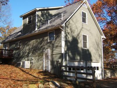 Original farmhouse  east elevation