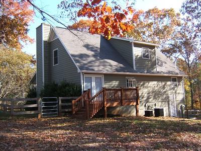 Original farmhouse  south elevation