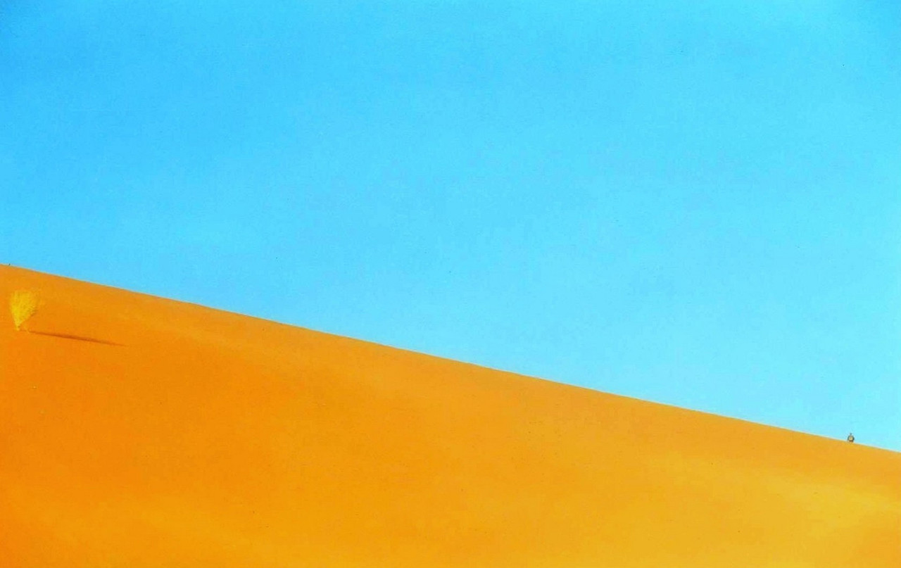 Sossusvlei Dunes in Southwestern Namibia (in southern Africa)
