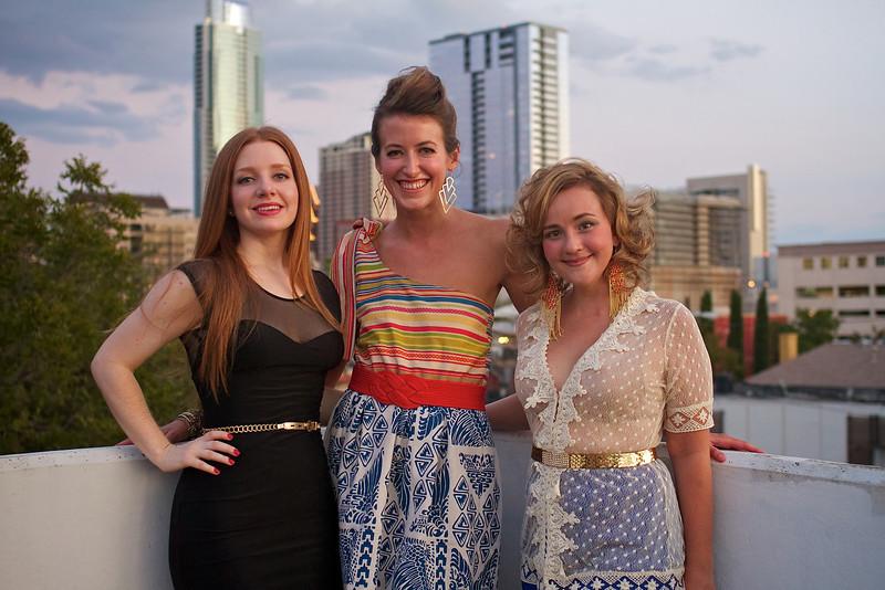 Austin Fashion Week 2011, Red Haute Rooftop Rendezvous - Austin, Texas