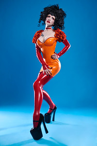 Ryo Love for Ooh La Latex photographed by Julian M Kilsby
