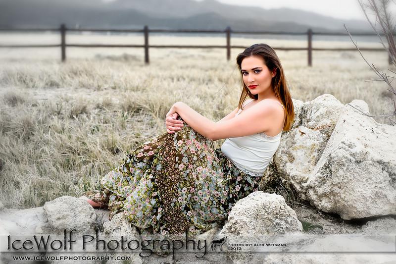 Model: Emalie Ferguson<br /> MUA: Shanna Racquel<br /> Photographer: Alex Weisman