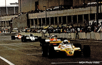 Start Finish Line - 1983 Detroit Grand Prix