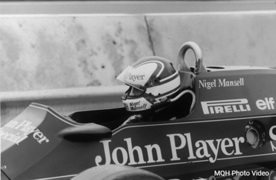 Nigel B&W - 1983 Detroit Grand Prix