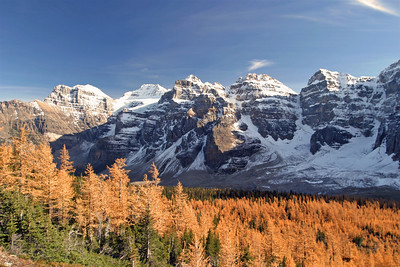 Larches & The Valley Of The 10 Peaks