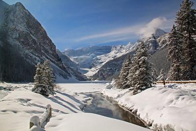 Lake Louise - Winter