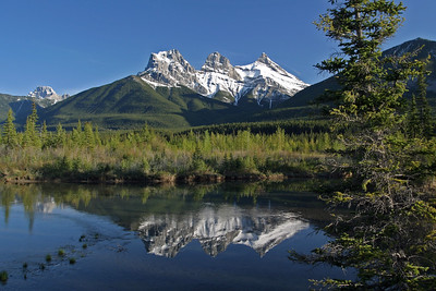 Three Sisters Reflection