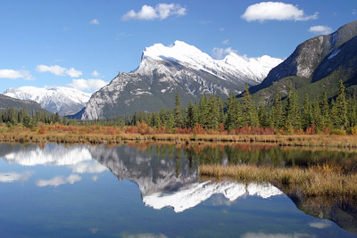 Mt. Rundle Reflection in 3rd Vermillion Lake.jpg
