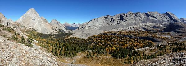Burstall Pass Looking East
