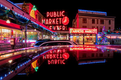 Pike Place Market Holiday Reflections