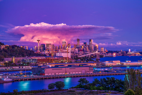 Seattle Thunderclouds