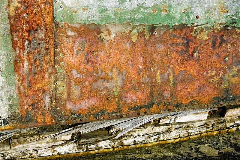 Ontario, Canada, Neys Park, boat detail