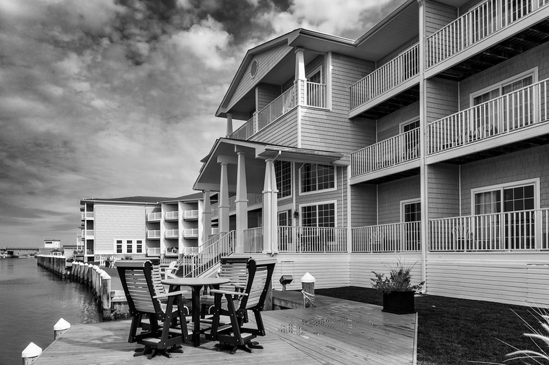 Hampton Inn and Suites on Chincoteague Island in Virginia.
