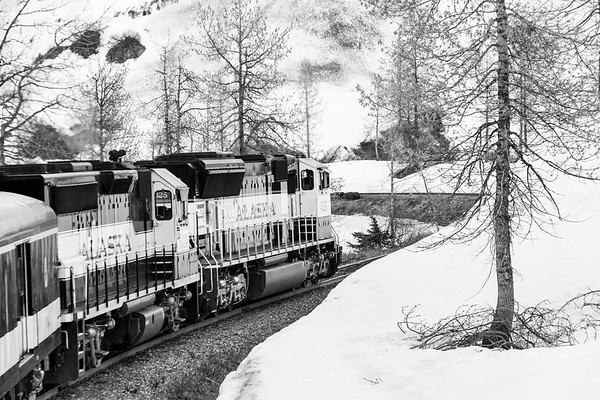 Trains in Alaska