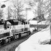 "Famous scenic train ride on Alaska Railroad Coastal Classic train between Seward and Anchorage, Alaska. Climbs to ""Grandview"" summit in Kenai Mountains."