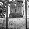 Irish Castle. Black and white photo taken in Ireland with Scalia BW slide film.