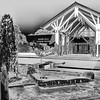 Visitor Center at Norfolk Botanical Gardens in Norkfolk, Virginia.