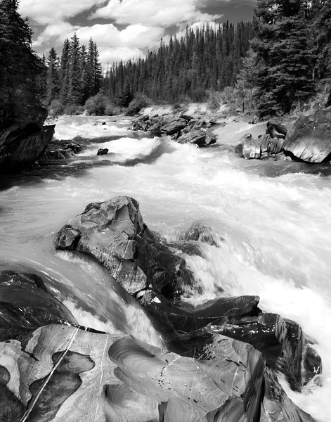 Numa Creek - Kootenay Park in British Columbia, Canada.