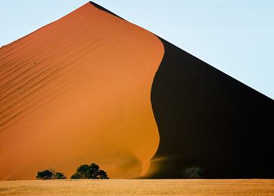 Sand dune, Sossusvlei, Namib Desert