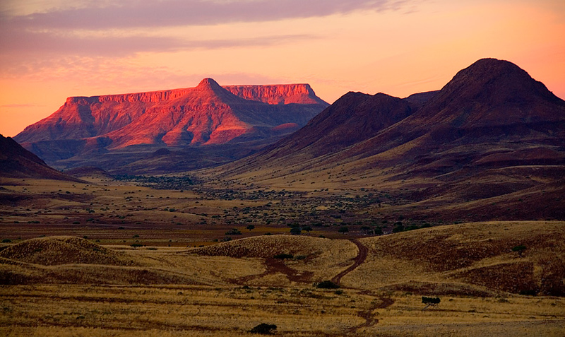Namibia, Damaraland table mountain