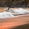San Francisco, surfer, Rodeo Beach, Marin Headlands