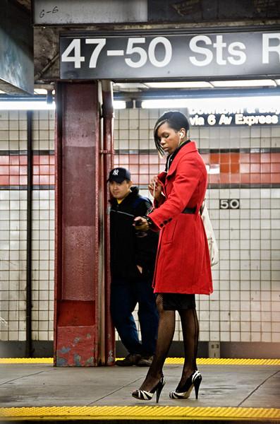 New York, 6th Avenue subway station